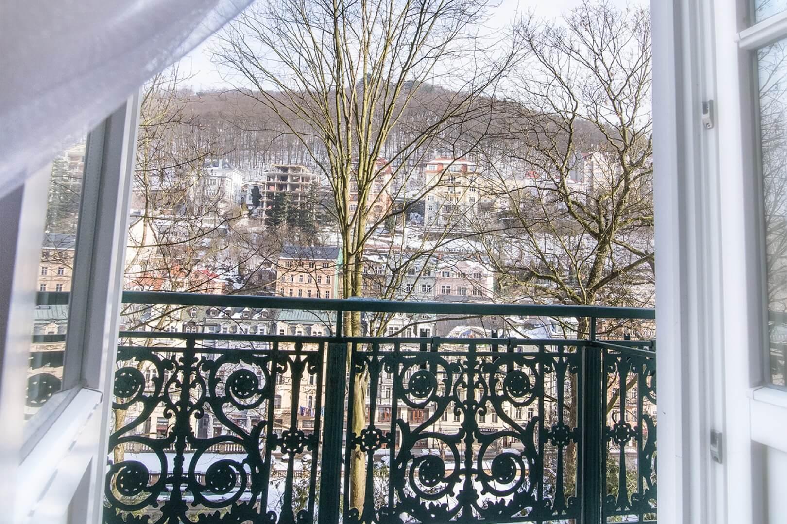 Zimní balkón