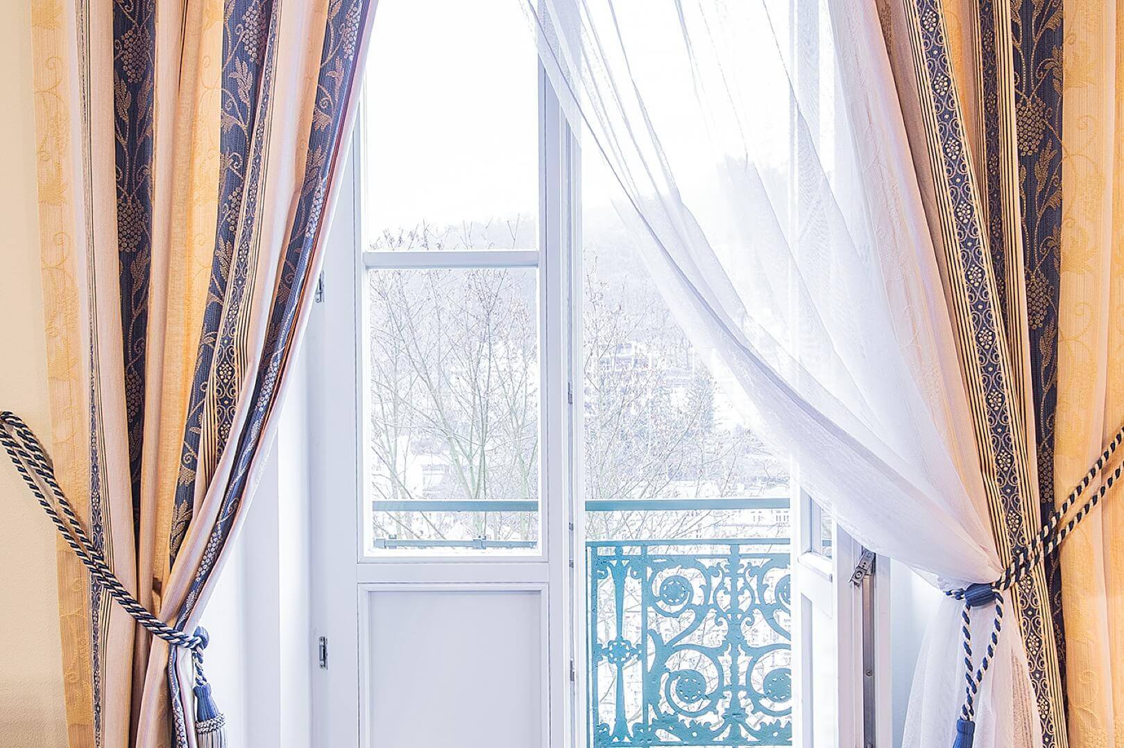 Jarní balkón